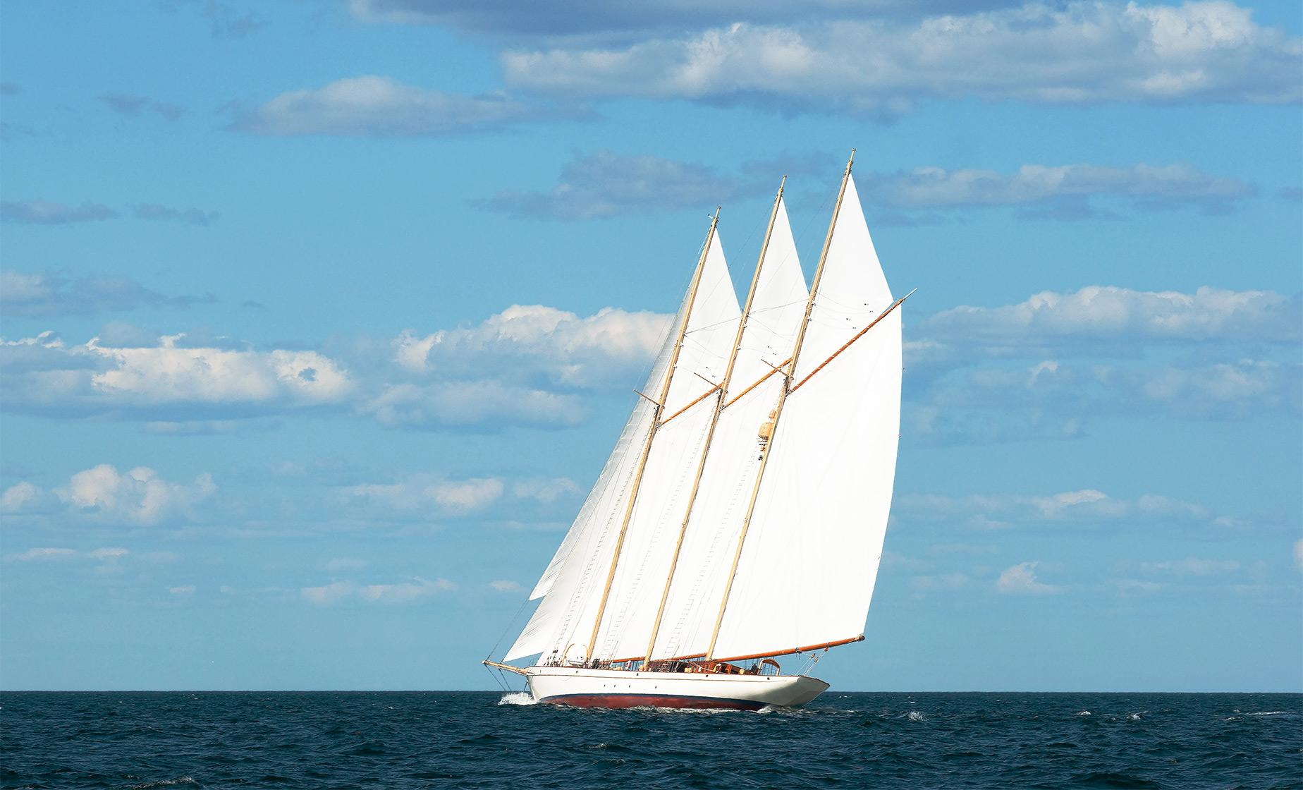 Key West Traditional Wooden Schooner Sail