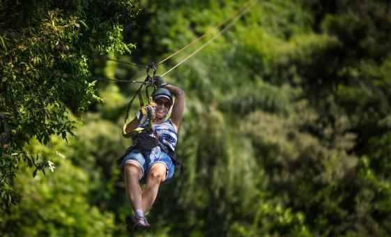 Puerto Limon Jungle Cruise and Canopy Zip Line Combination in Costa Rica
