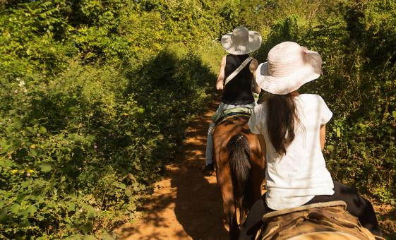 Adventure Combo Horseback and Zip Line