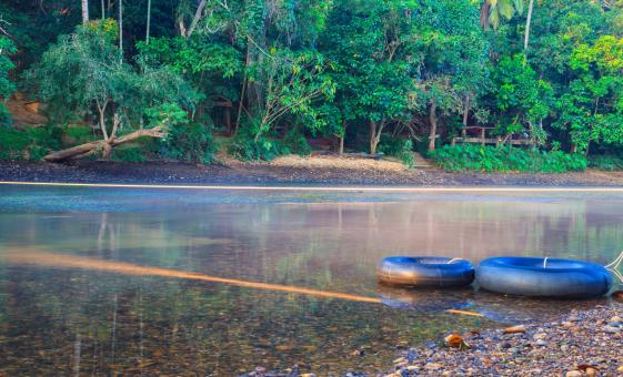 River Tubing Safari and Beach Adventure