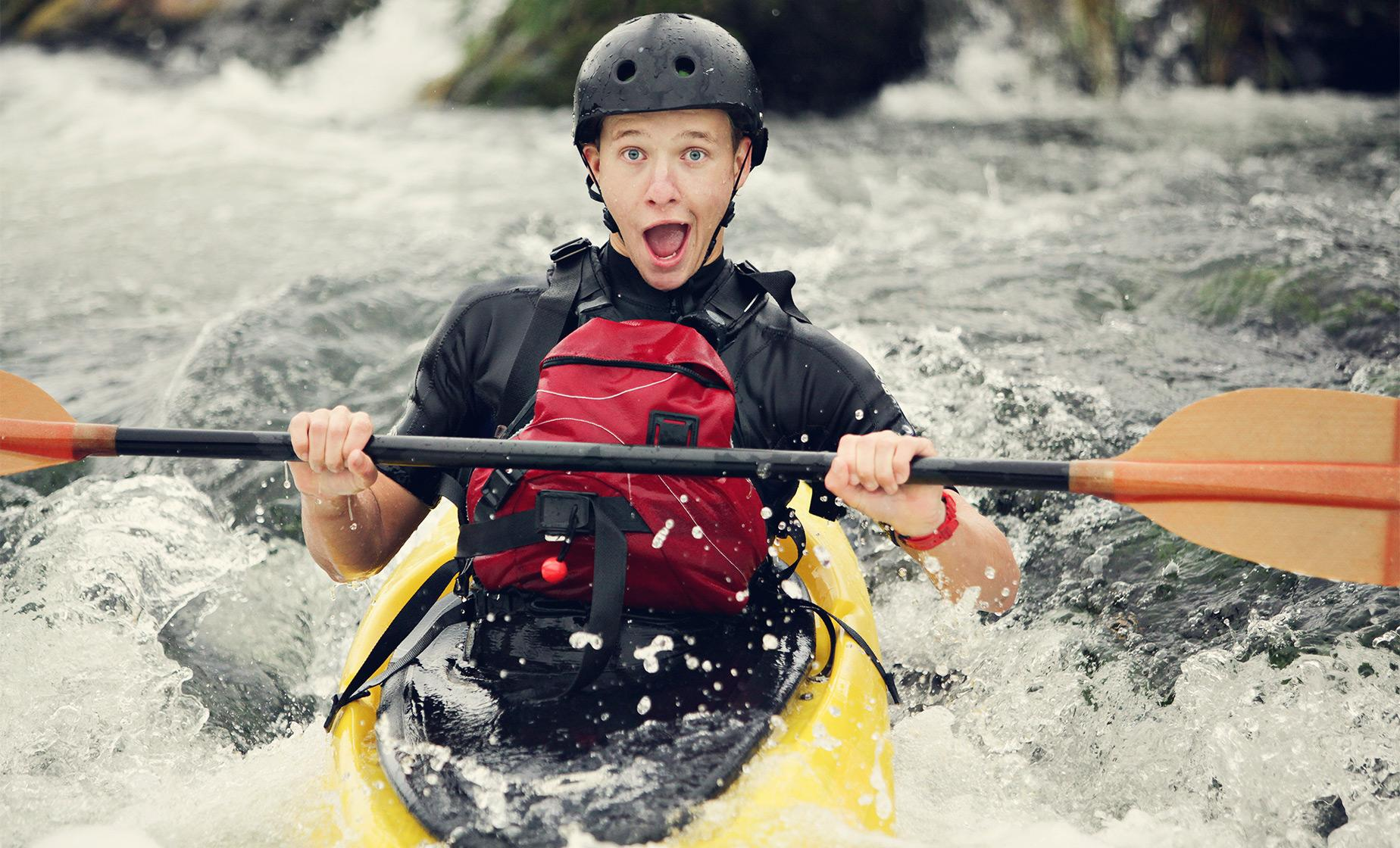 Horseback Ride and White Water Kayaking