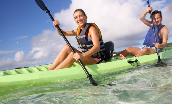 Kayak and Snorkel at Pelican Key Tour in St. Martin