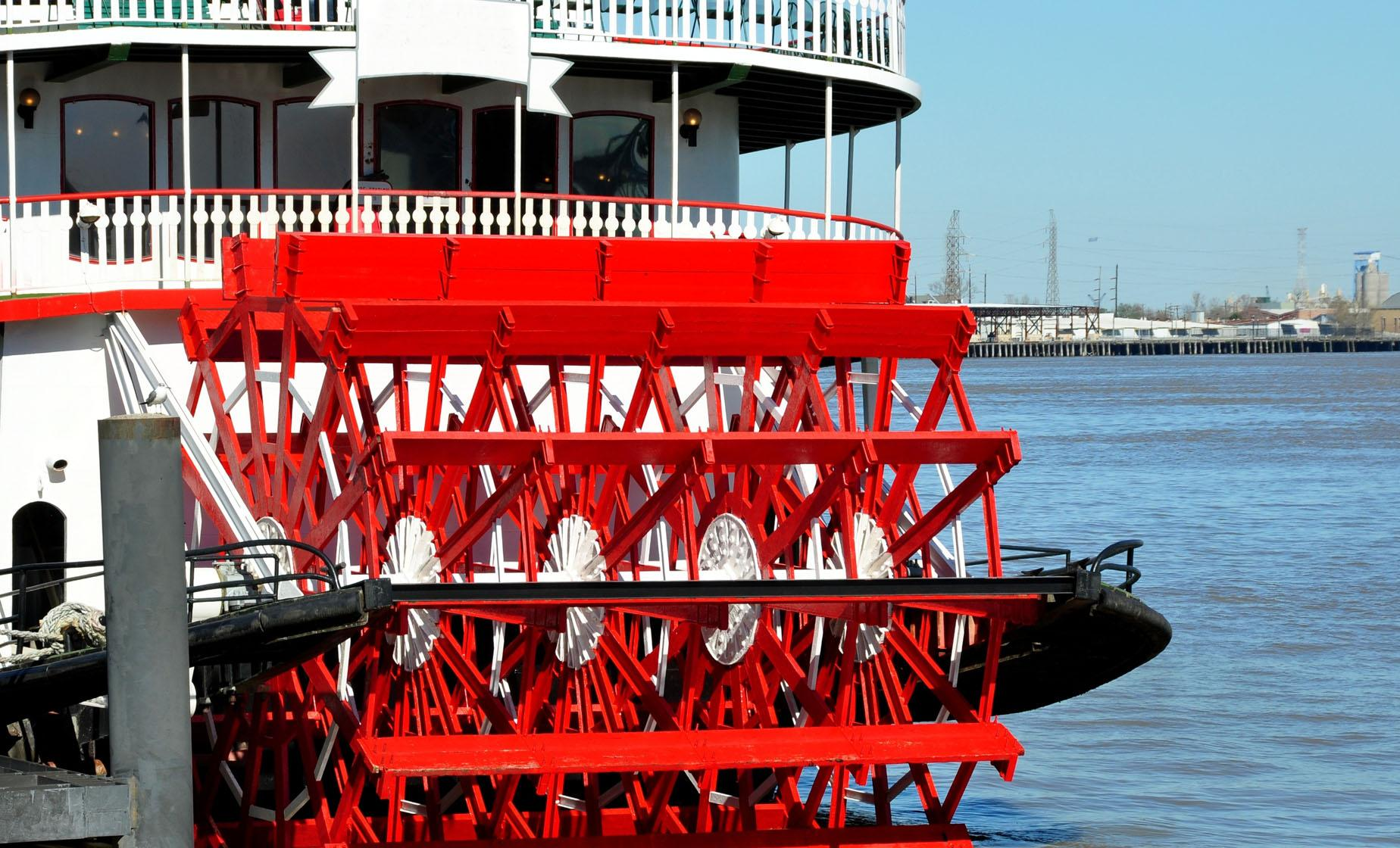 Steamboat Harbor Cruise With Lunch in New Orleans (Mississippi River, Chalmette Battlefield)