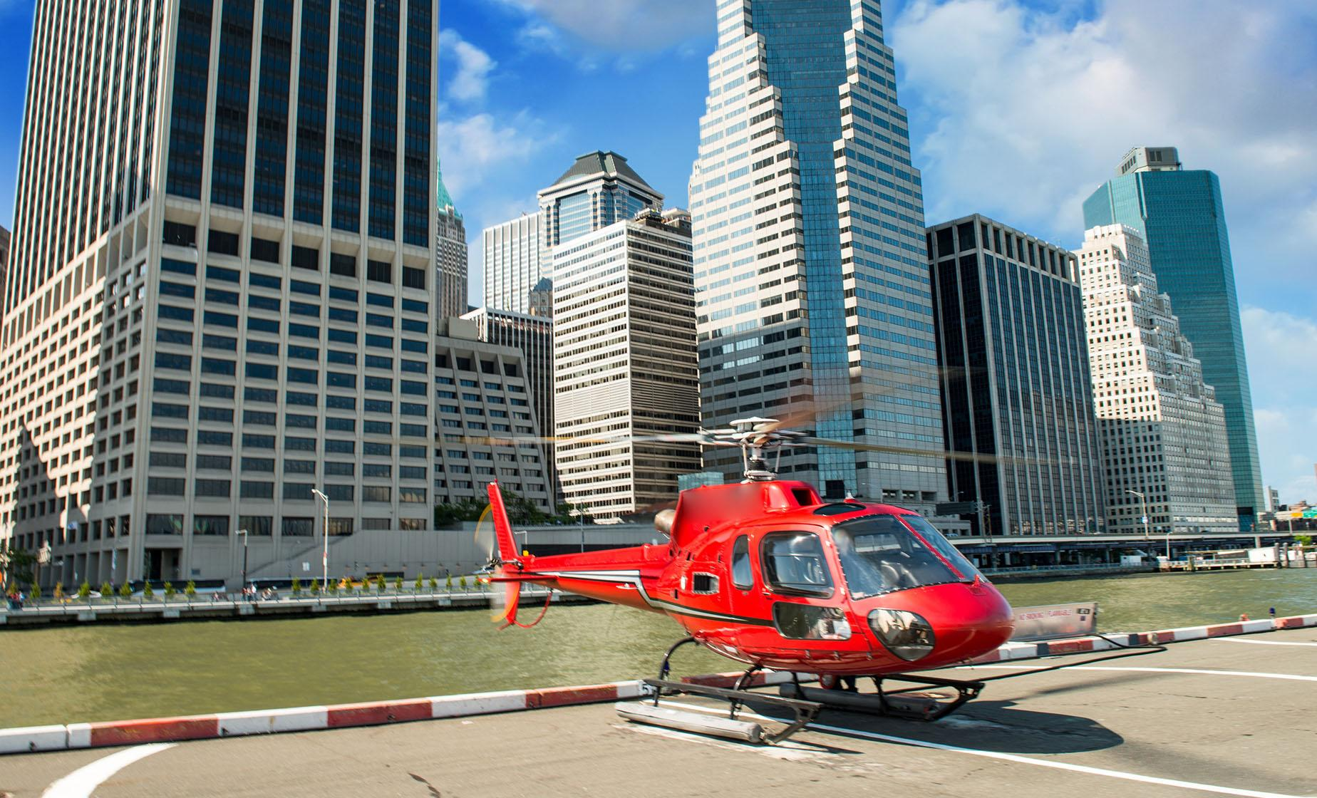 Private Big Apple Helicopter Tour in New York City
