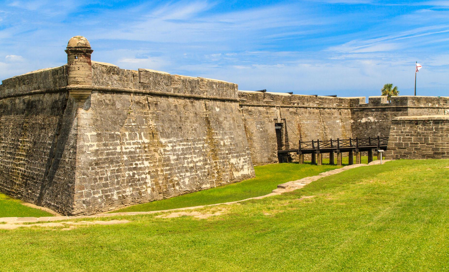 Day Trip to St. Augustine from Orlando Florida (Castillo de San Marcos and Fort Matanzas)