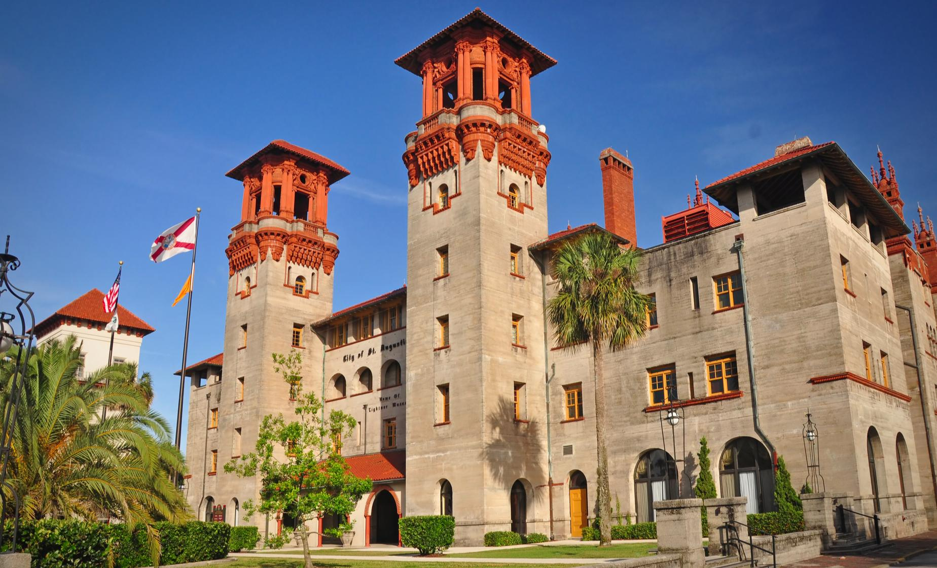 Scenic Cruise and Day Trip to St. Augustine from Orlando (Lightner Museum, Flagler College)