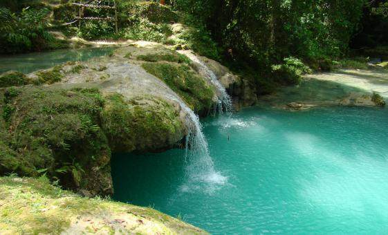 Blue Hole and Dunn's River Falls