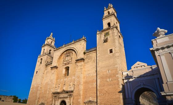 Private Historical Merida Tour from Progreso (Cathedral de San Ildefonso)