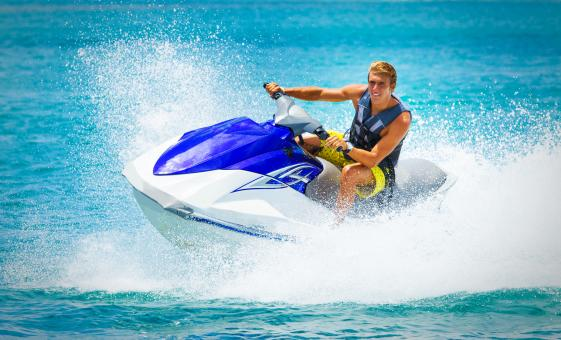 Jet Ski and Beach Break