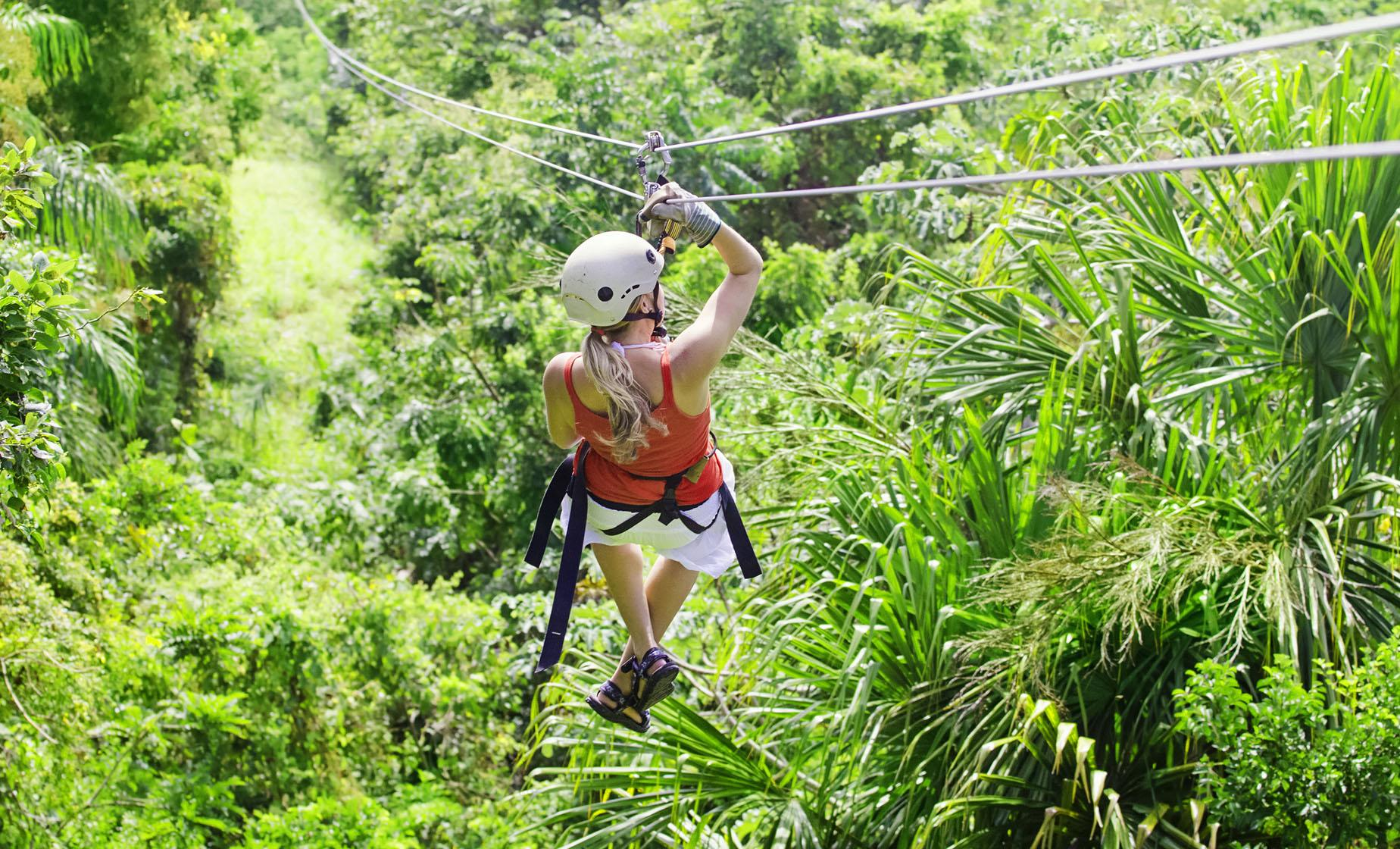 Pirates Of The Caribbean Zip Line, Iguana Park and Snorkel