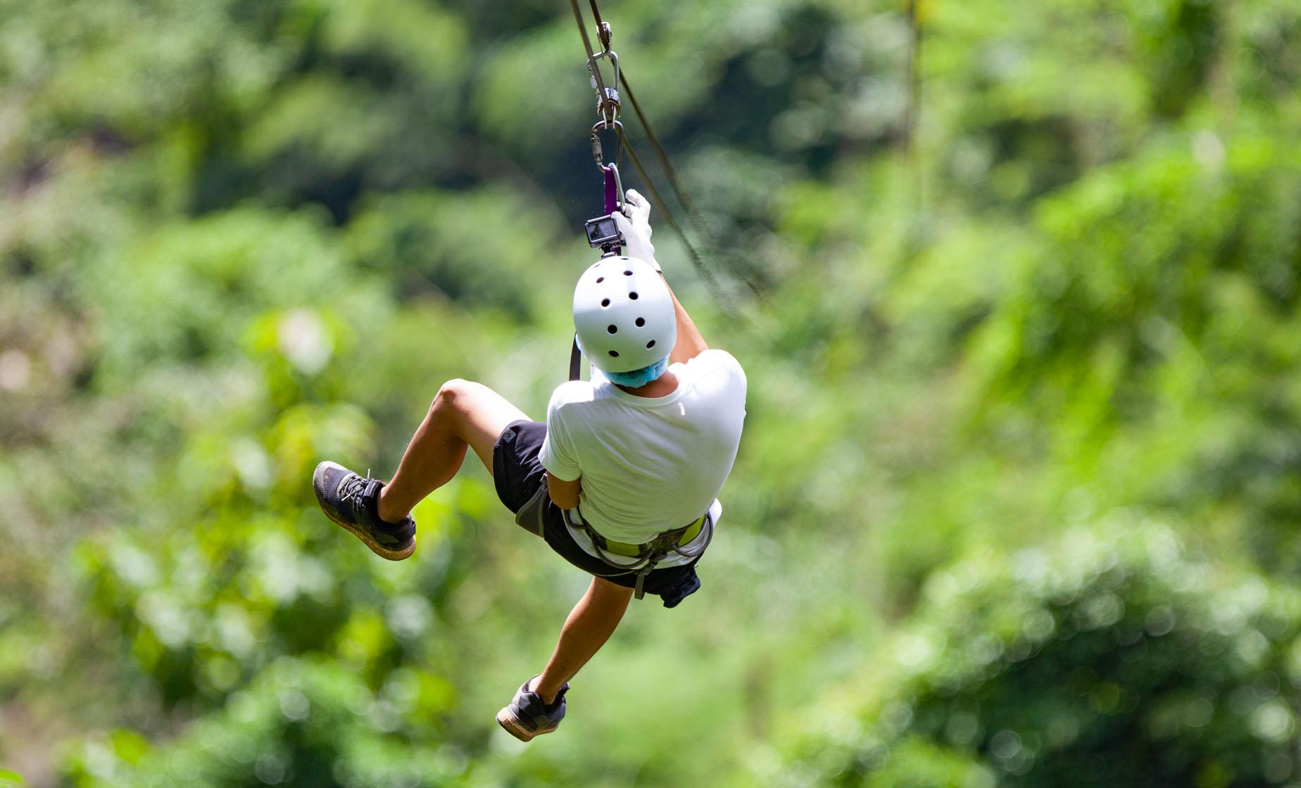 Roatan Zip, Eco Walk and Beach Break