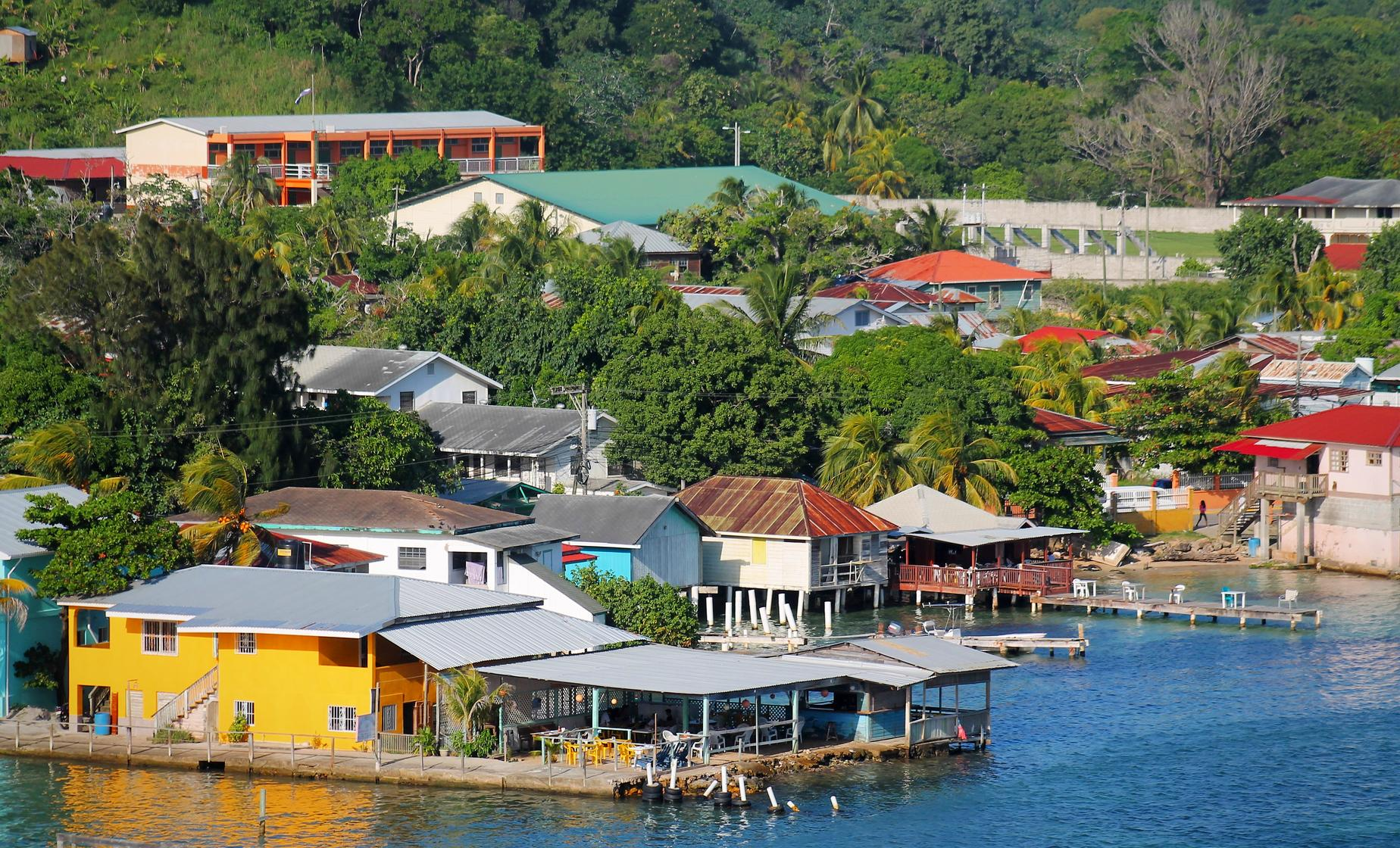 A View of Roatan Highlights with Chocolate and Rum Factory