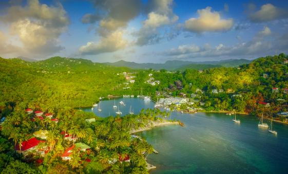 St Lucia Island Adventure to Marigot Bay, Soufriere & Pitons