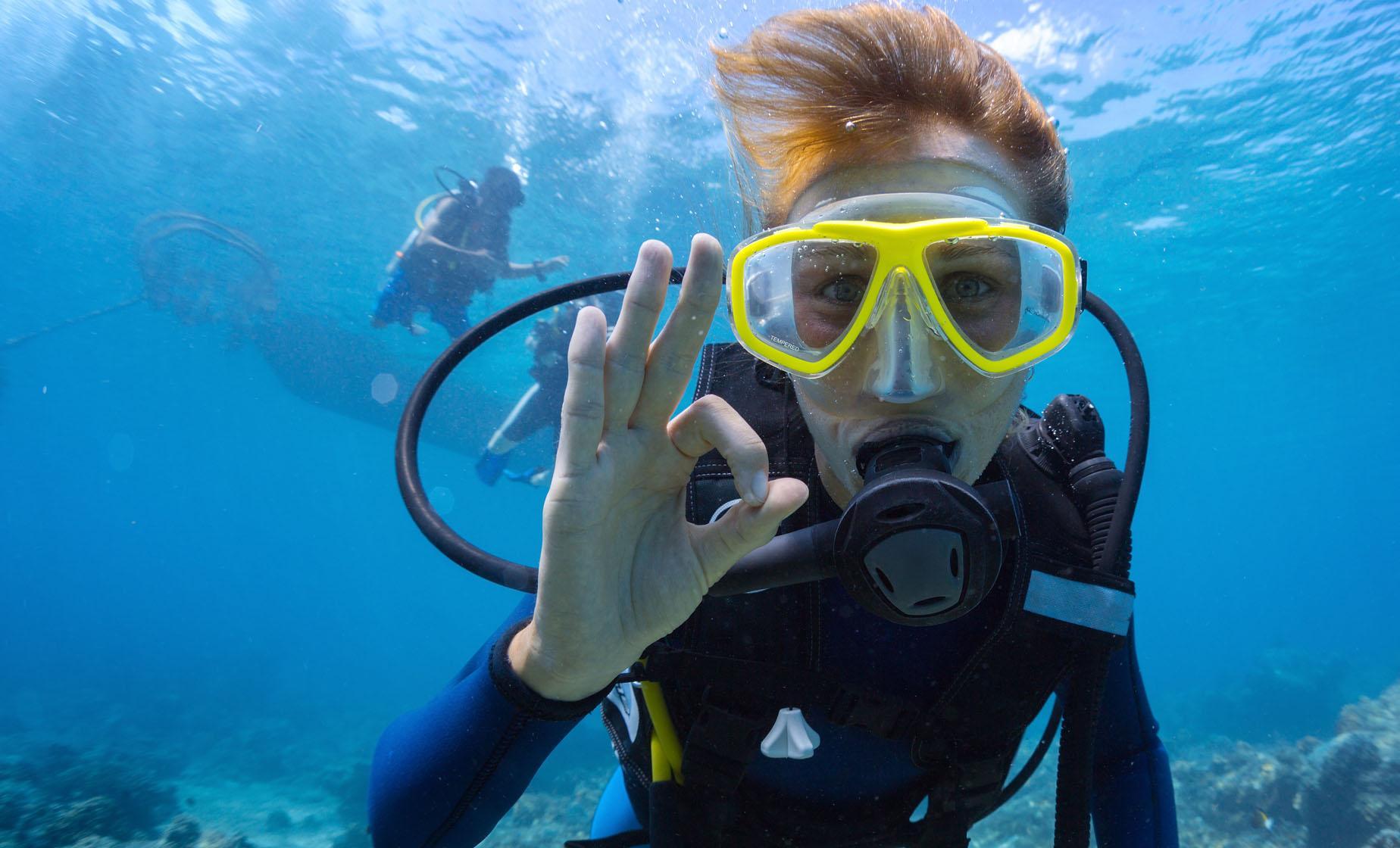 St Lucia PADI Discover Scuba Diving