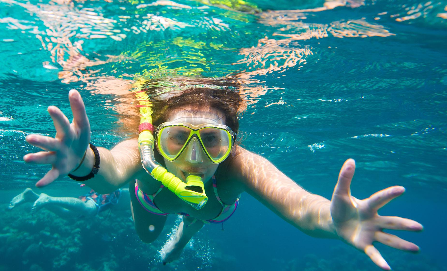 Kayaking & Snorkeling Port Trip in St. Lucia to Roseau River & Marigot Bay