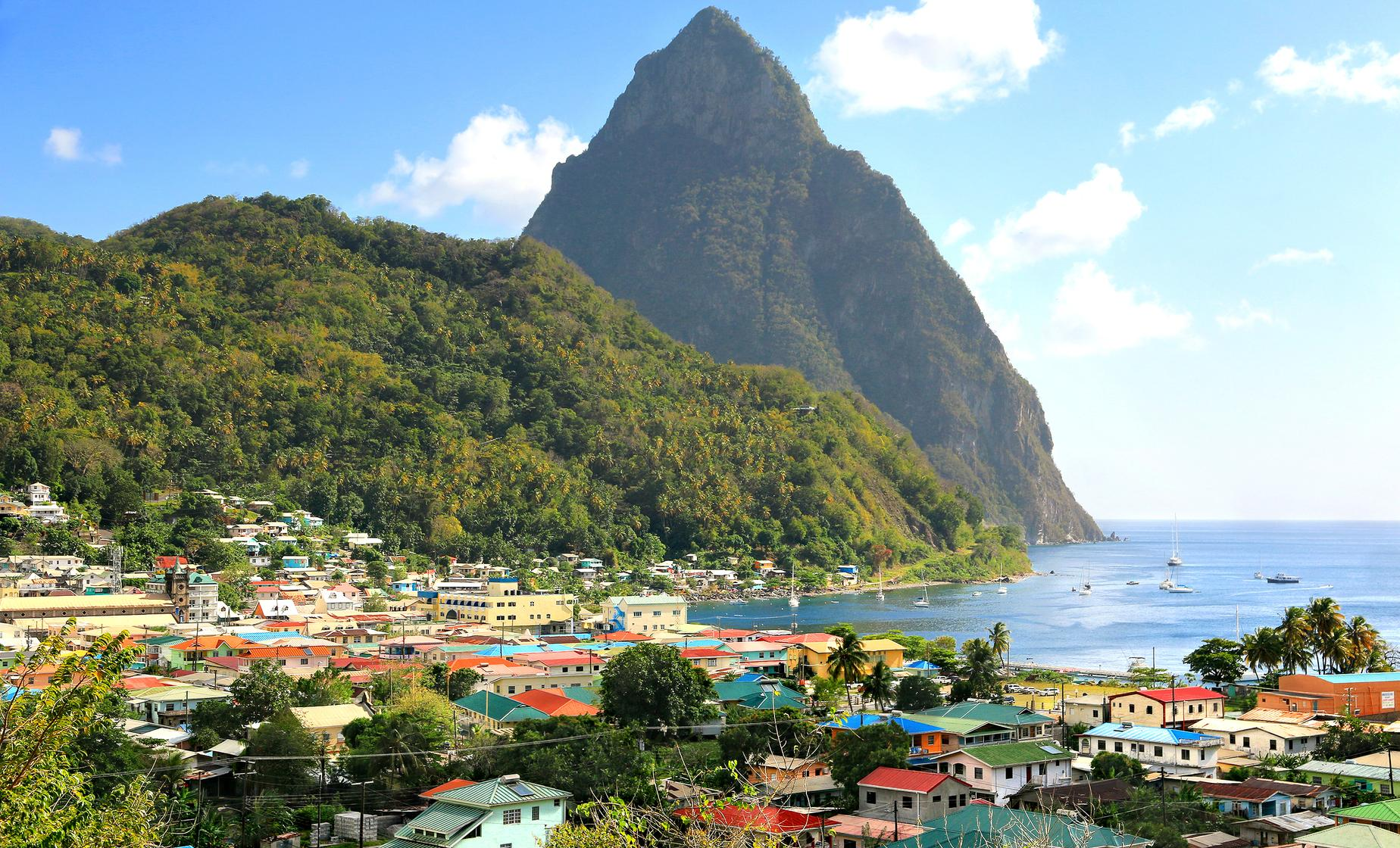Soufriere Island Delight and Falls