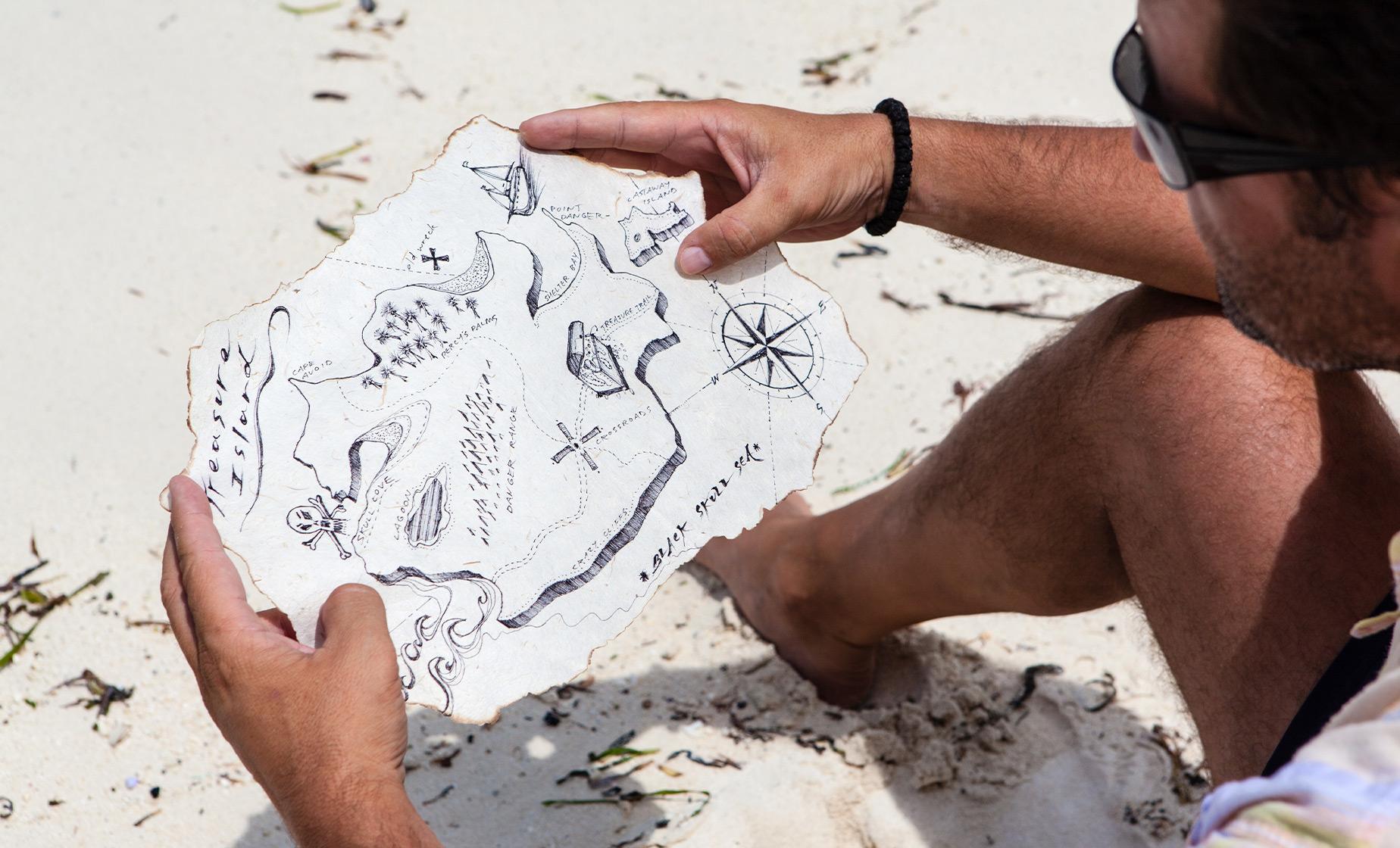 Pigeon Island Pirate Treasure Hunt