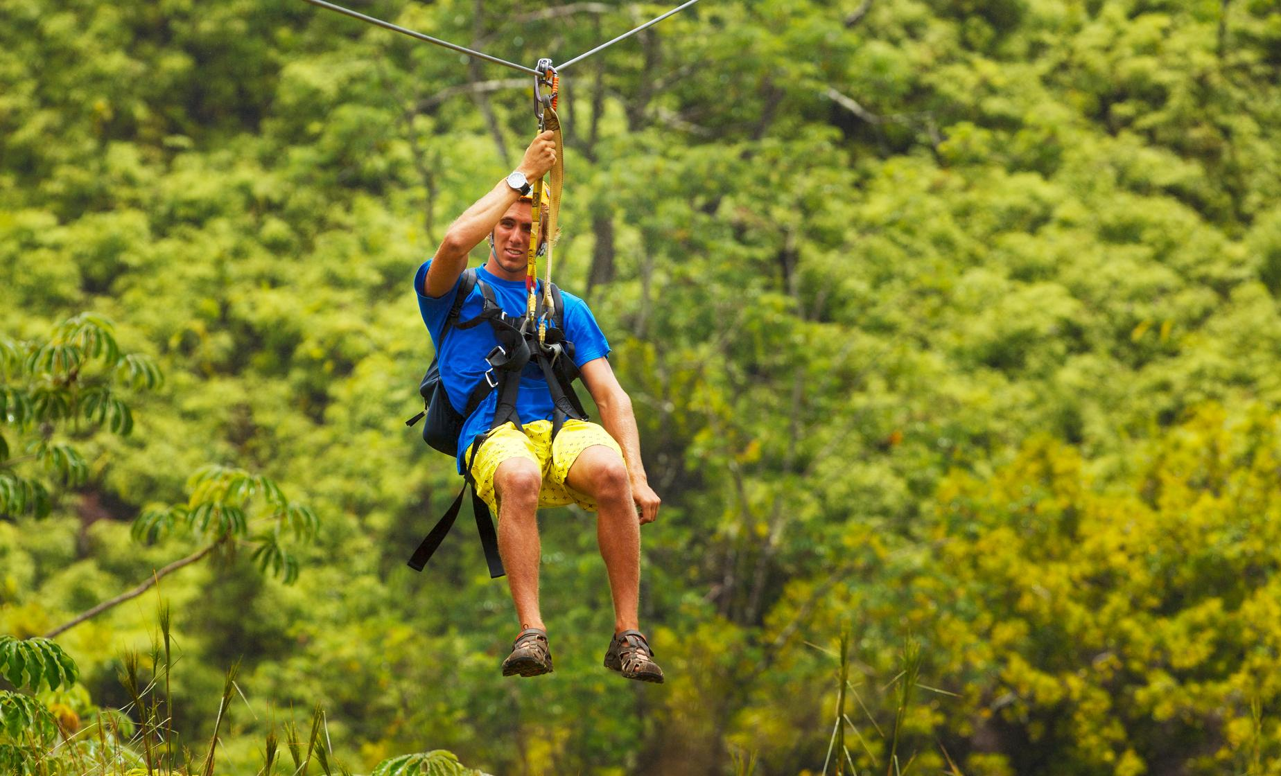 Castries Dune Buggy & Dennery Zip Line Cruise Trip in St. Lucia