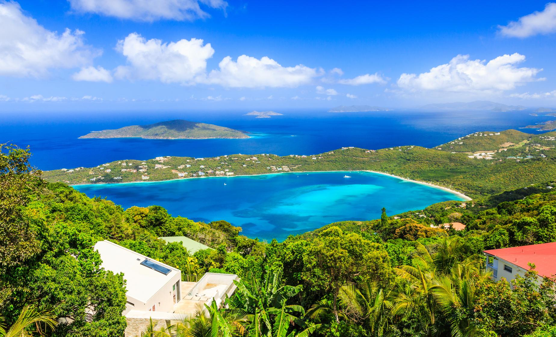St. Thomas Island Overview