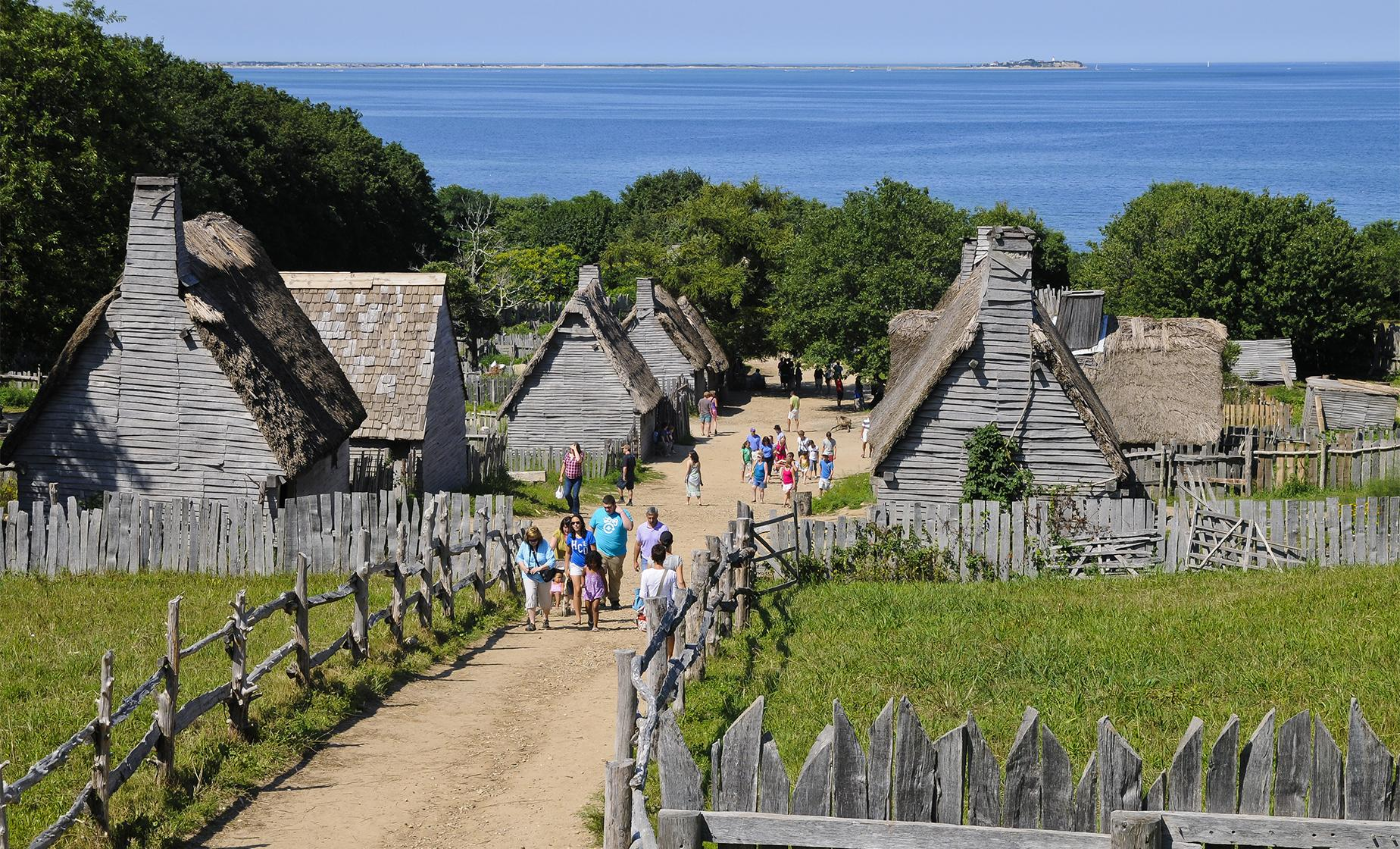 Plimoth Plantation Tour - Boston (Plymouth Rock, Massachusetts Bay Colony)