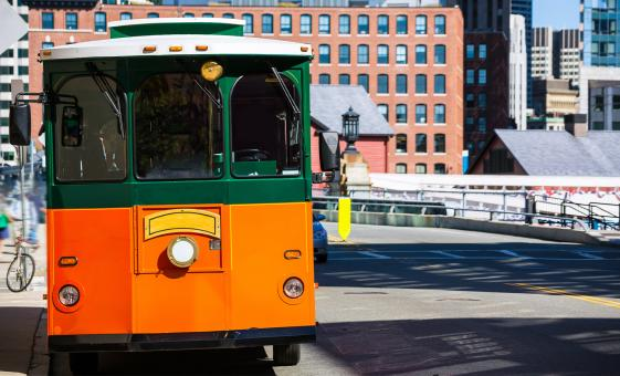 Old Town Trolley Tour of Boston (Public Garden Bunker Hill Monument)