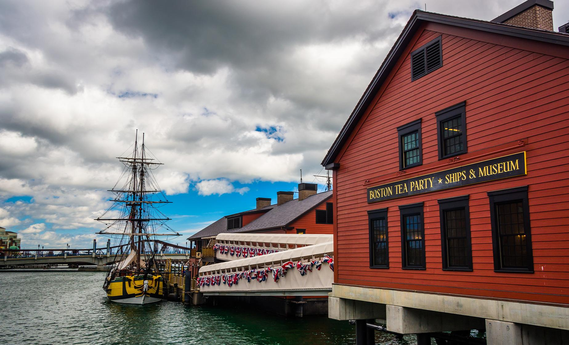 Boston Tea Party and Museum Pass Tour