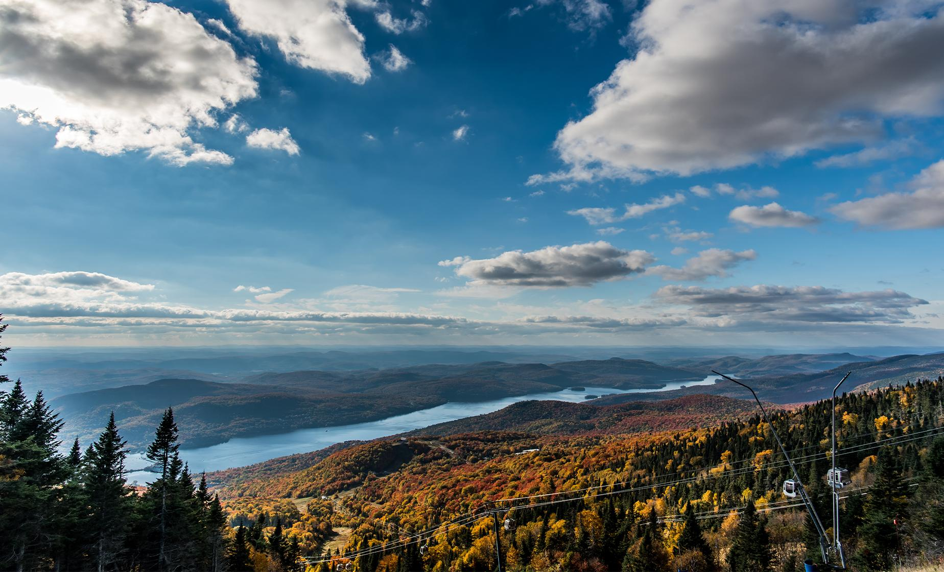 Laurentian Mountains Day Trip from Montreal (Lac des Sables, Mont St. Sauveur Village)