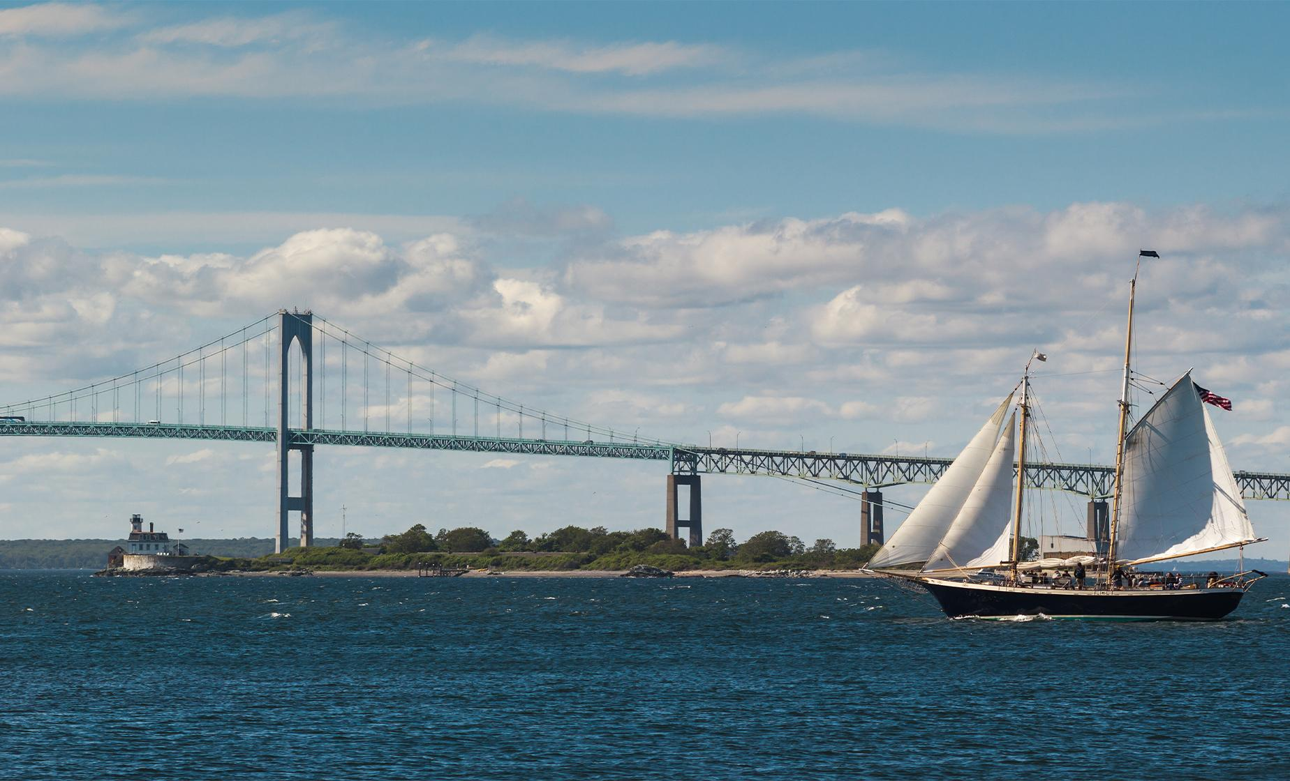 Private Sailing Cruise Aboard the Schooner Aquidneck