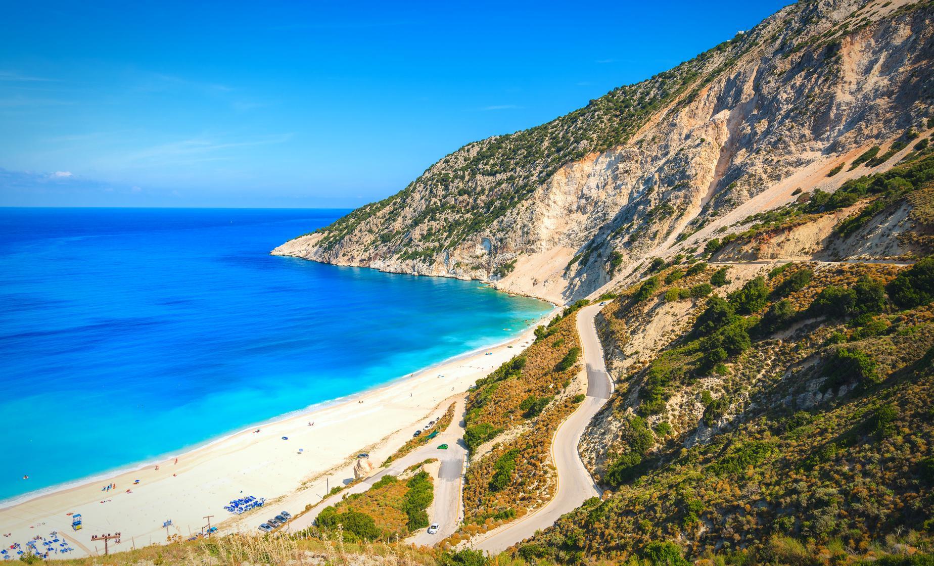 Greek Beach Day Argostoli Cephalonia Shore Excursion Caribbean Cruise Tours