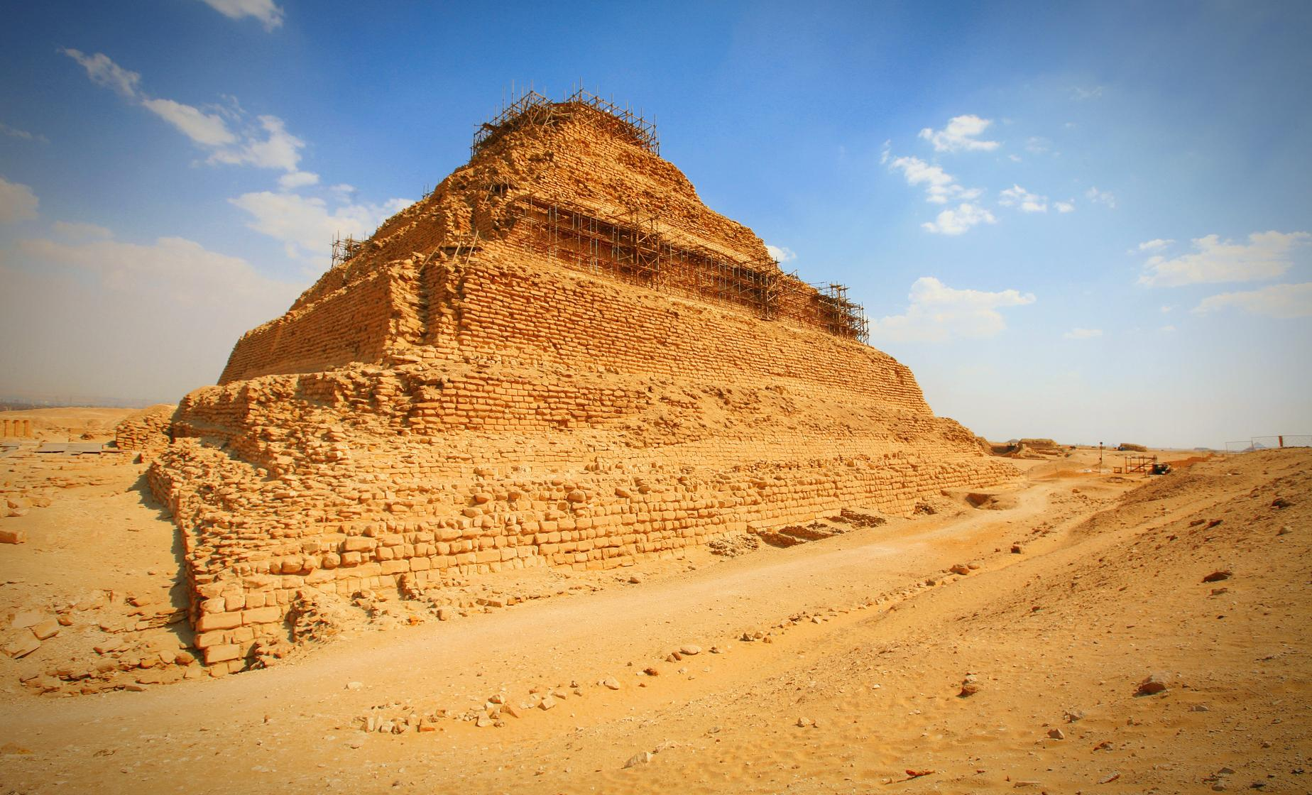 Private Memphis, Sakkara and Cairo Tour from Alexandria (King Djoserï's Pyramid)