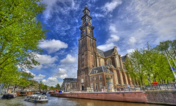 Amsterdam Highlights Cruise Tour (Westerkerk, the Anne Frank House, Skinny Bridge)