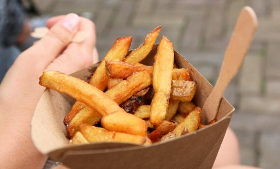 Amsterdam Food Tasting Tour (Dam Square,  Belgian Fries)