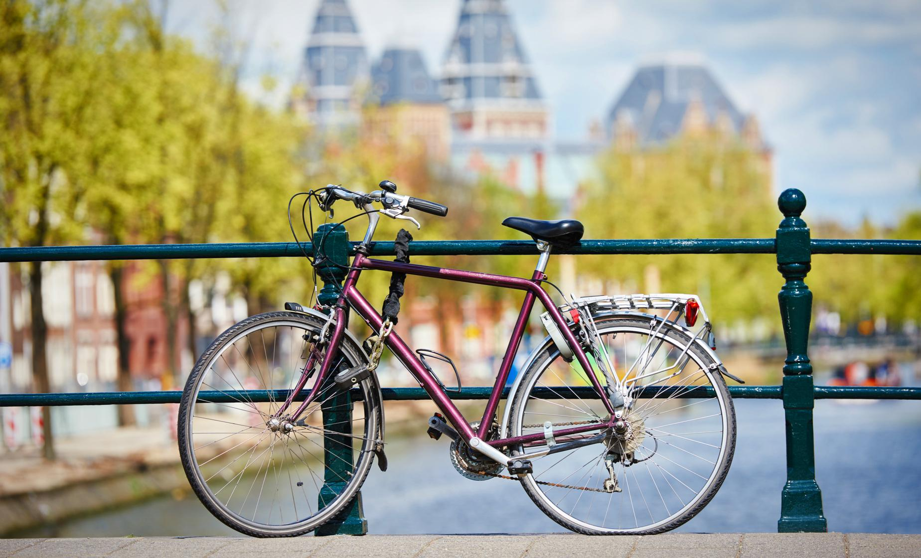 Amsterdam by Bike Tour (National Monument, De Waag, Dam Square)