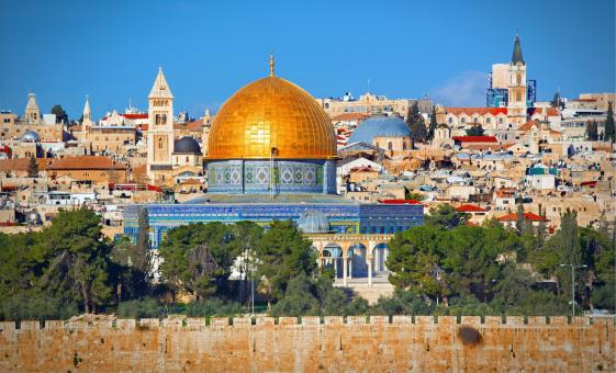 Private Panoramic Jerusalem Tour from Ashdod (Mt. Scopus, Mount of Olives)