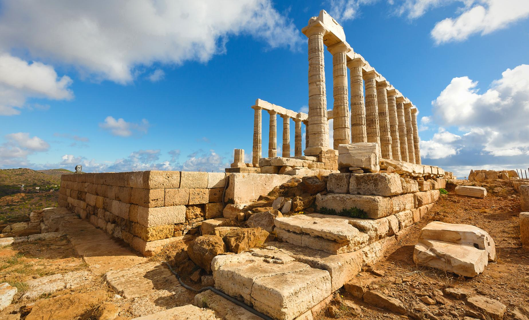 Temple of Poseidon and Cape Sounion Half-Day Trip from Athens hotels