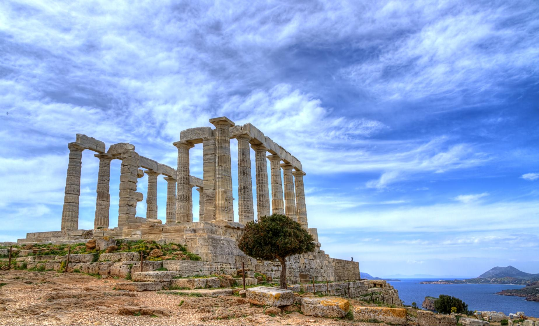 Best Places To Travel Europe April: Cape Sounion Day Tour Cruise Excursion From Athens