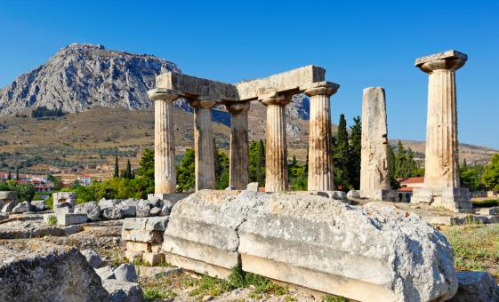 Half-Day Athens Cultural Tour of Ancient Corinth and Sites Like Colossal Apollo Temple and the Soothing Corinth Canal