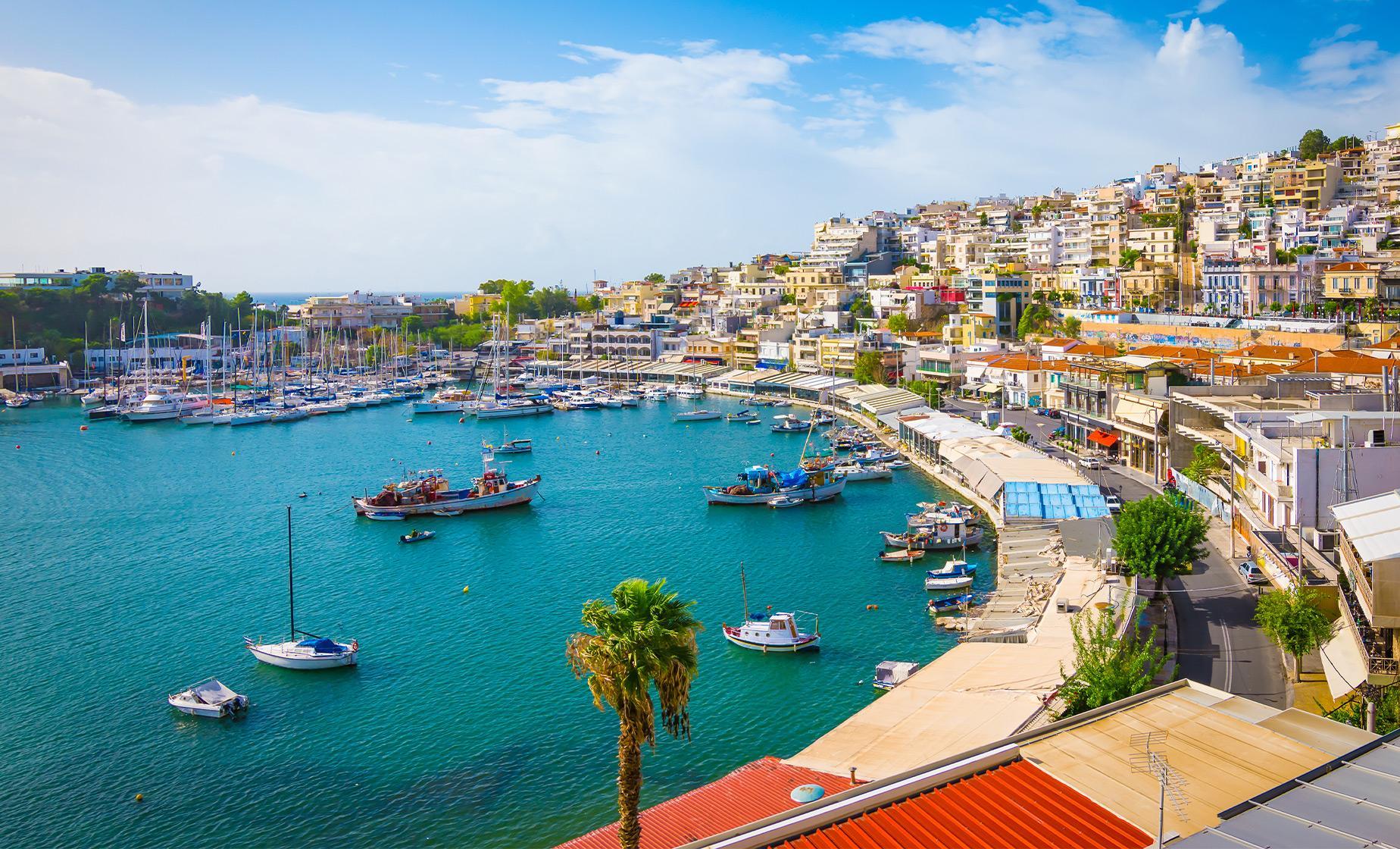 Hop-on Hop-off Athens Highlights Tour (Athens, Piraeus & Beach Riviera)
