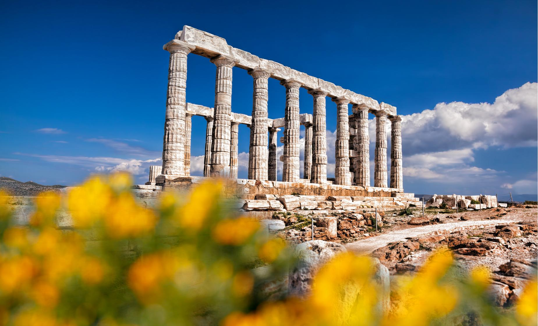 Cape Sounion Half-Day Tour from Hotel