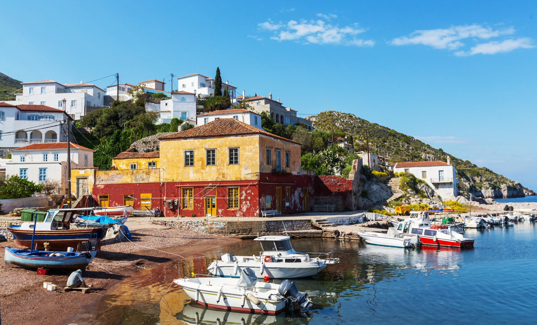 Hydra Poros and Aegina Boat Trip from downtown Athens