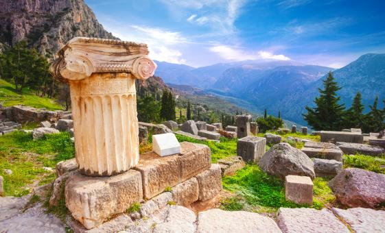 Private Delphi The Navel of the Earth Tour from Athens (Sacred Way, Temple of Apollo)