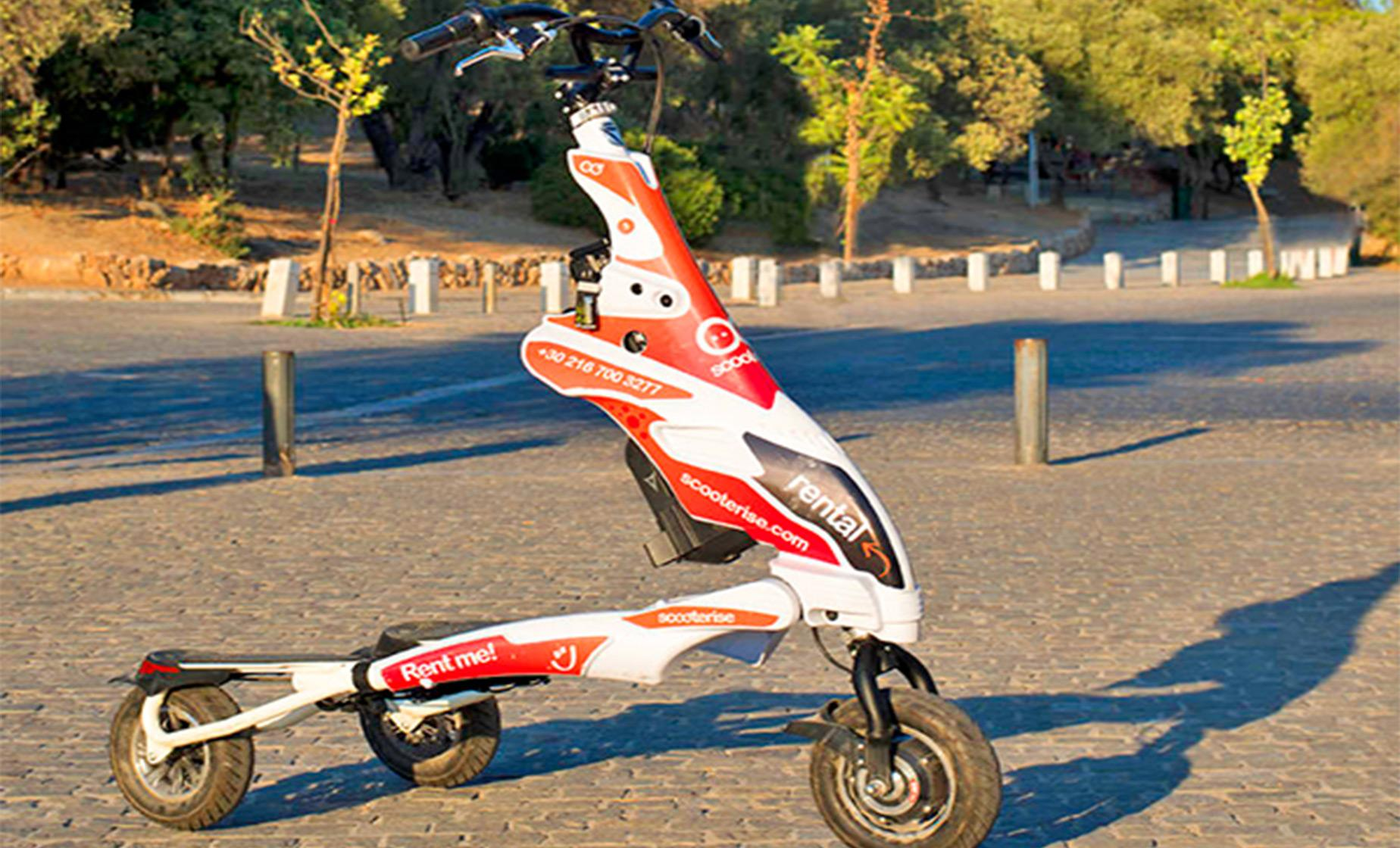Ancient Athens Trikke and Walking Combo Tour