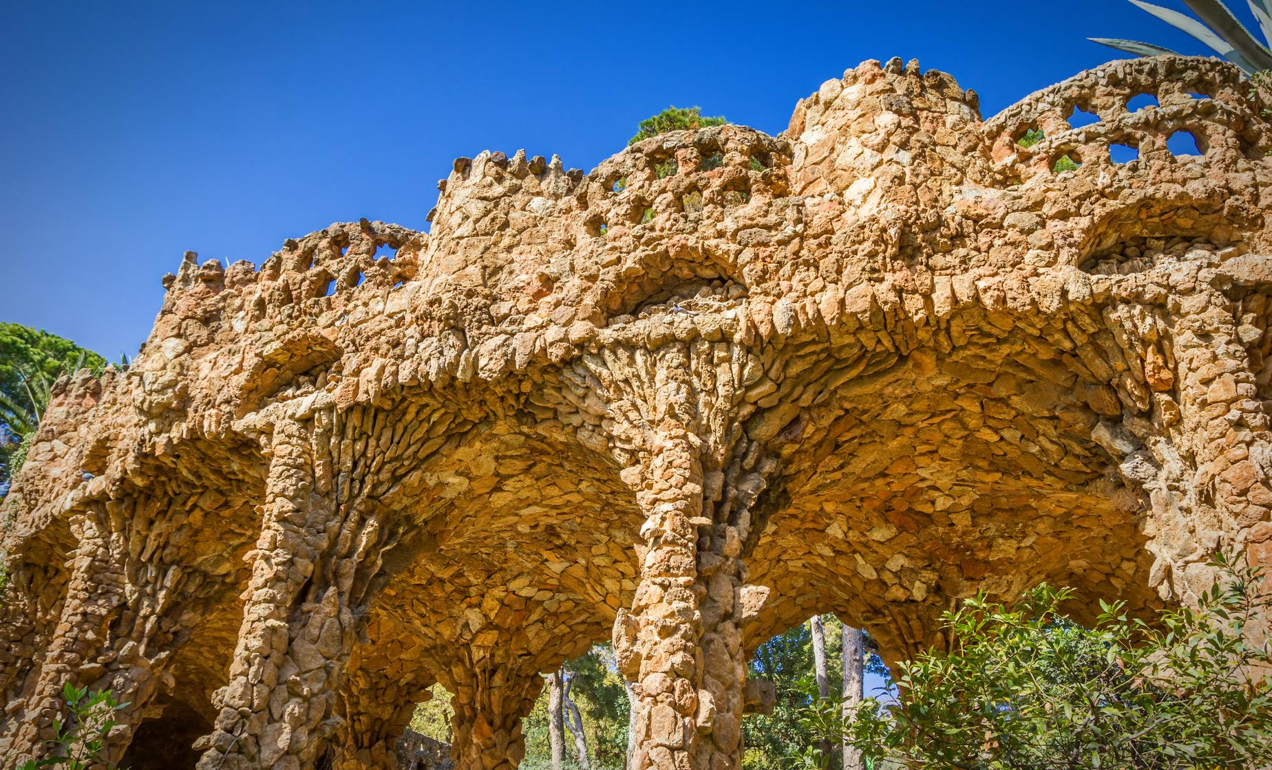 Park Guell and Sagrada Familia with Tower