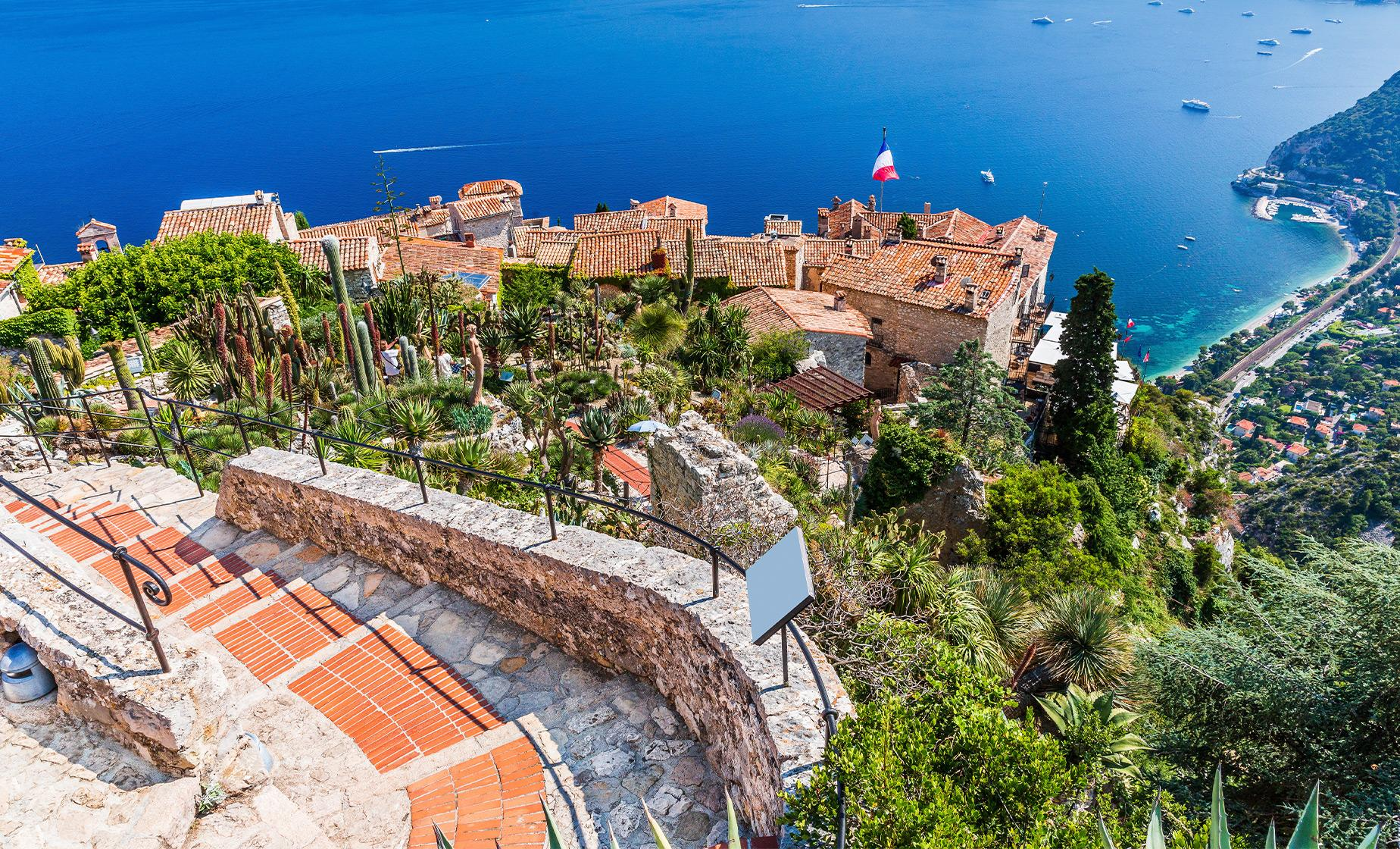 Monte Carlo, Eze and La Turbie