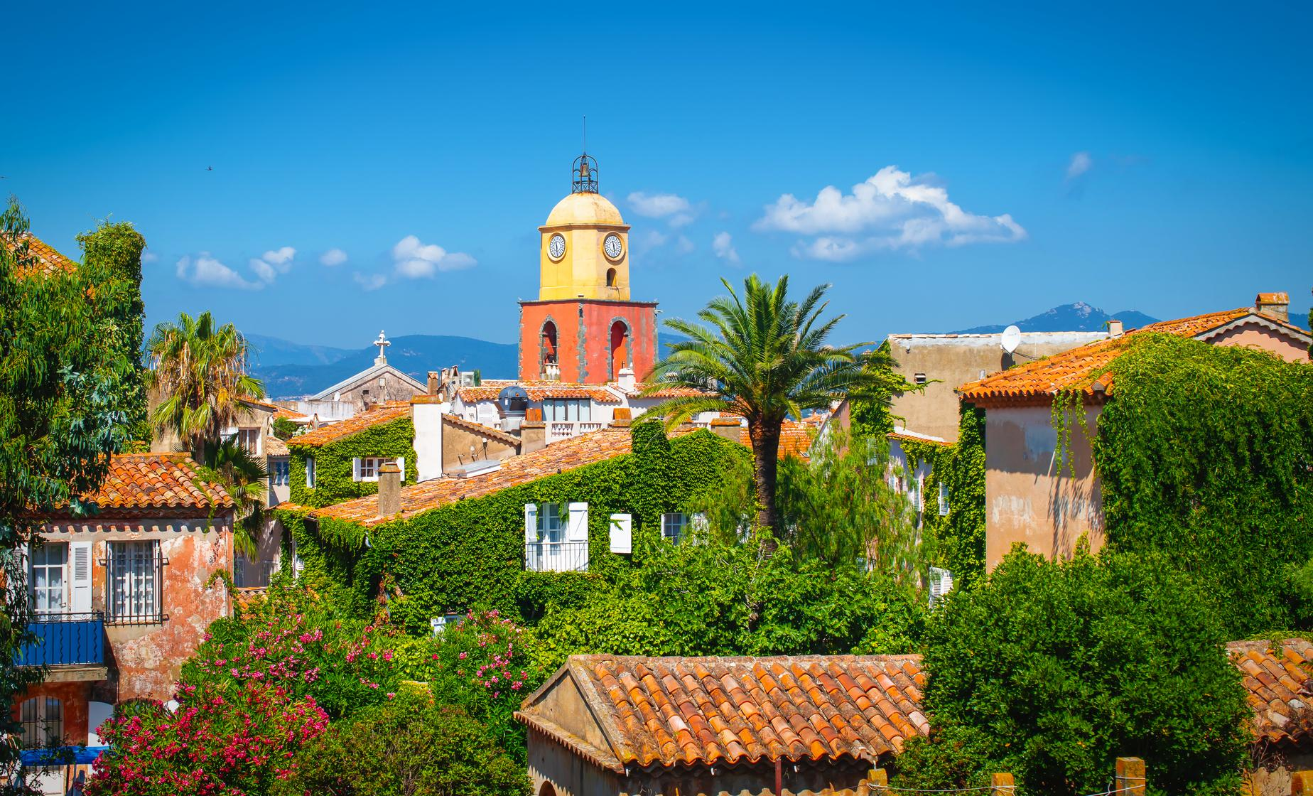 Saint Tropez and Port Grimaud