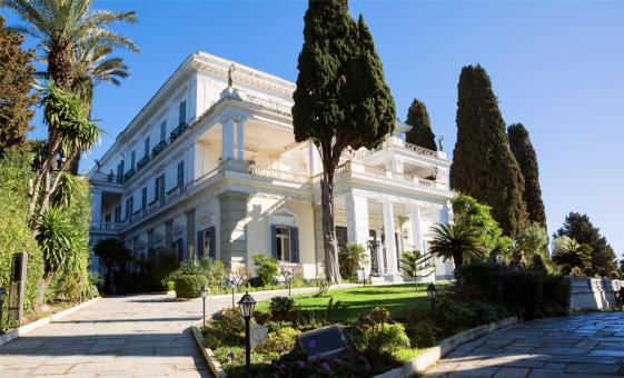Achilleion Palace and Old Corfu Town