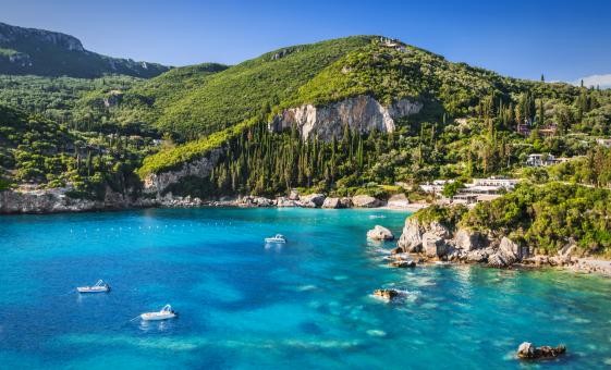 Private Cultural Tour of Paleokastritsa and Lakones With Wine and Meze