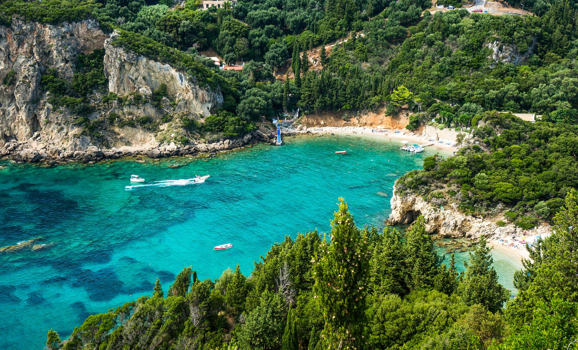 Exclusive Achilleion Palace, Paleokastritsa and Corfu Town