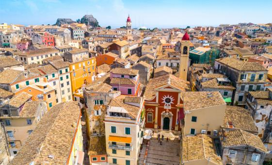 Corfu Town, Achilleion Palace and Olive Oil Tasting