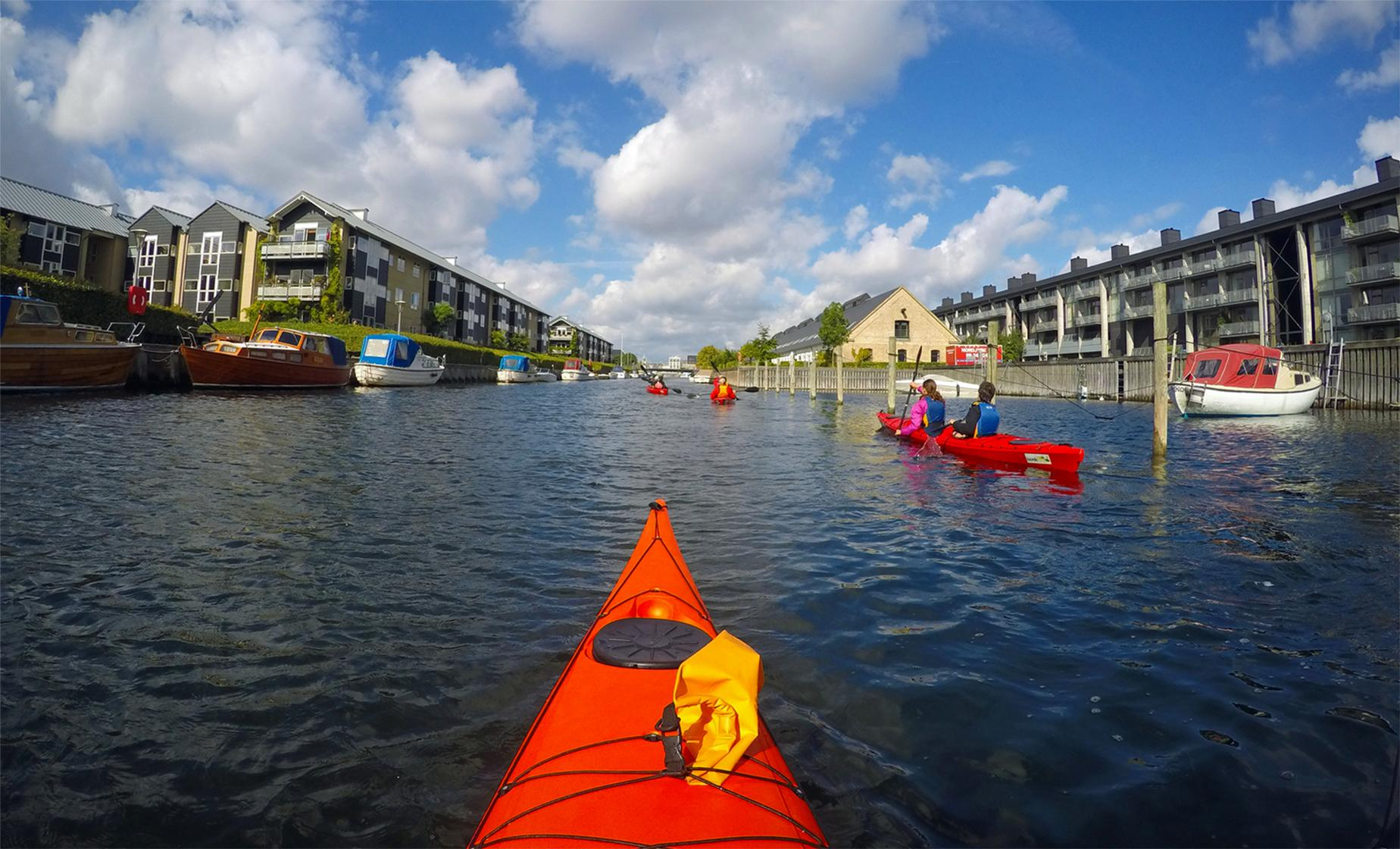 Private Copenhagen Kayaking